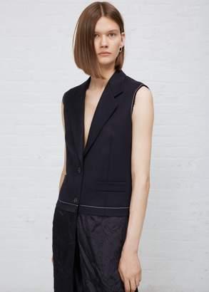 Maison Margiela Silk Wool Combo Vest