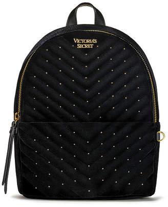 Victoria's Secret Victorias Secret Velvet Stud Small City Backpack