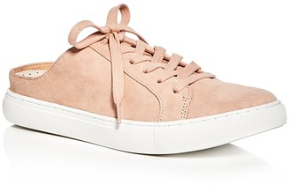 Kenneth Cole Kinsley Suede Lace Up Sneaker Mules $110 thestylecure.com
