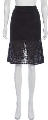Ungaro Embroidered Knee-Length Skirt