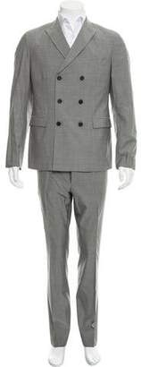 Prada Double-Breasted Wool-Blend Suit