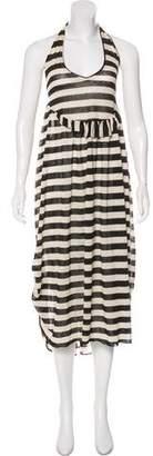 Ter Et Bantine Striped Halter Dress