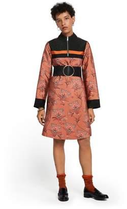 Scotch & Soda Floral Zip-Up Dress