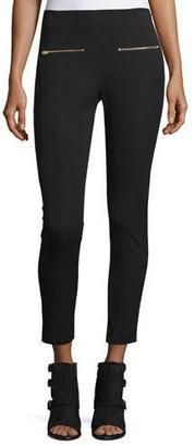 Rag & Bone Annie Cropped Ponte Pants, Black $325 thestylecure.com