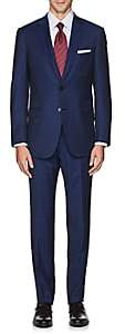Brioni Men's Brunico Wool Two-Button Suit - Navy