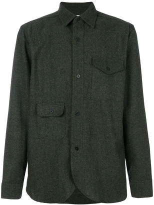 Han Kjobenhavn tweed military shirt