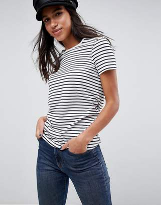 Asos DESIGN Stripe Crew Neck T-Shirt