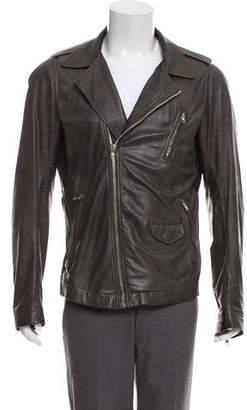 Rick Owens Leather Moto Jacket
