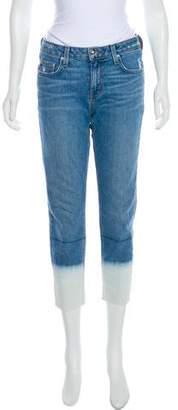 Derek Lam Mila Mid-Rise Straight-Leg Jeans