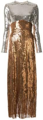 Rachel Comey contrast maxi dress