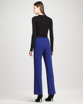Peace of Cloth Vera Flat-Front Pants