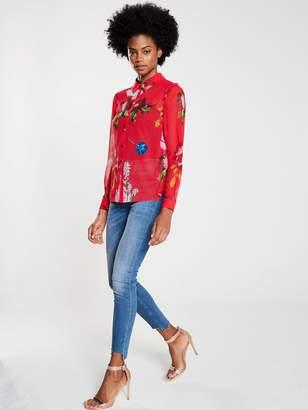 Ted Baker Eevilin Berry Sundae Printed Shirt - Red