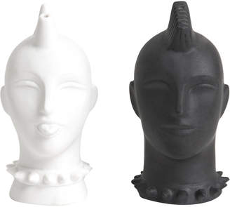 Jonathan Adler Mohawk Salt & Pepper Shakers