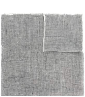 frayed edge scarf - Black Holland & Holland CIIAgcdGH