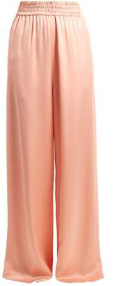 Golden Goose Sophie wide-leg satin track pants