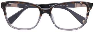Balmain rectangular glasses