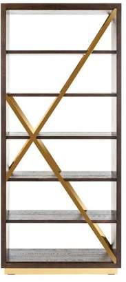 Safavieh Leroux Oak Bookcase