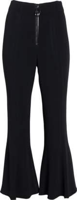 Cushnie et Ochs High-Waist Cropped Flare Pants