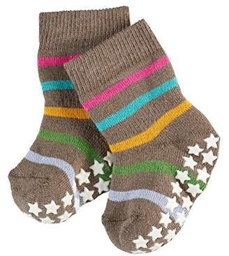 Falke Baby Multi Stripes Catspads Socks,0-3 Months