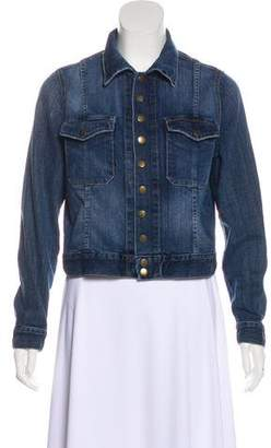 Current/Elliott Button-Up Denim Jacket
