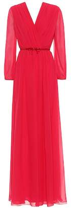 Max Mara Uguale silk georgette dress