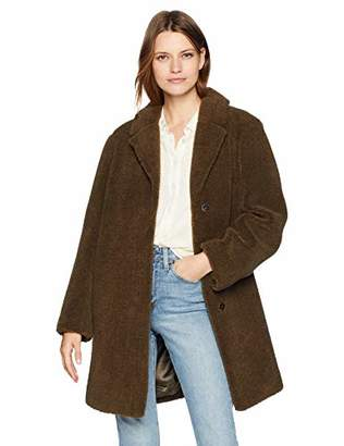 Velvet by Graham & Spencer Women's Trishelle lux Sherpa Coat