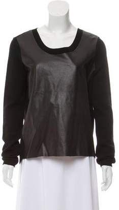 Rebecca Minkoff Wool Scoop Neck Sweater