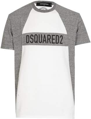 DSQUARED2 Dsquared Panel Logo Tshirt