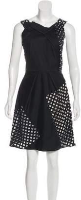Roland Mouret Sleeveless Cutout Dress
