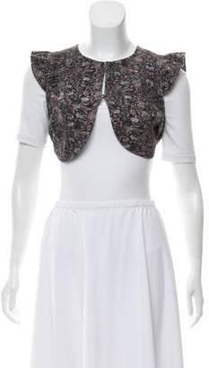 Etoile Isabel Marant Sleeveless Printed Cropped Vest w/ Tags