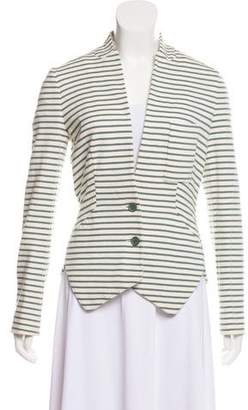 Cacharel Striped Fitted Blazer