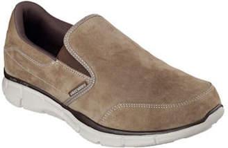 Skechers Equalizer Mind Game Suede Slip-On Shoes