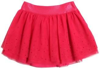 Miss Blumarine Embellished Layered Tulle Skirt