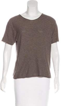 Alexander Wang Knit Short Sleeve Top