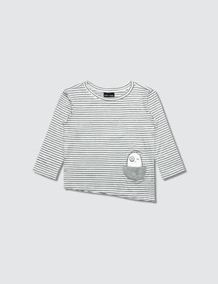 Bash+Sass Asymmetric L/S T-Shirt