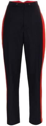 Joseph Annam stripe wool cashmere blend trousers