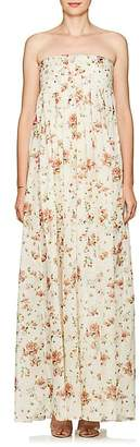 Brock Collection Women's Dilly Floral Cotton Maxi Dress