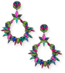 Ranjana Khan Oversized Crystal Statement Earrings