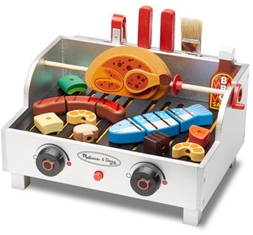 Toddler Melissa & Doug Rotisserie & Grill Barbecue Play Set