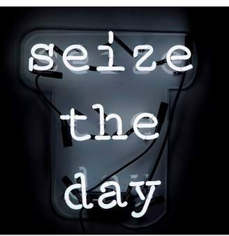 Oliver Gal Gallery Seize the Day Neon Sign