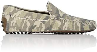 Tod's Men's Camouflage Canvas Drivers