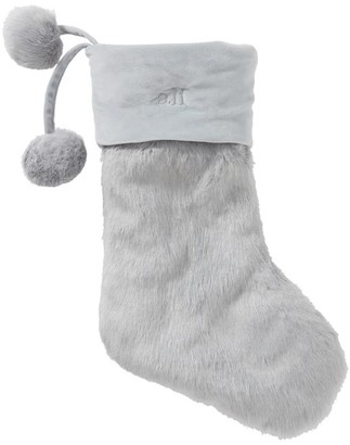 Pottery Barn Teen Iced Faux-Fur Stocking