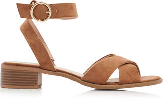 Long Tall Sally LTS Rose Two Part Block Heel Sandal