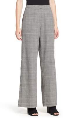 --- Side Snap Menswear Pants