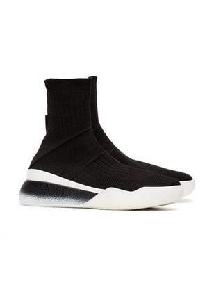 Stella McCartney Loop High Top Knit Sneakers