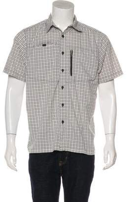The North Face Plaid Utility Short Sleeve Shirt