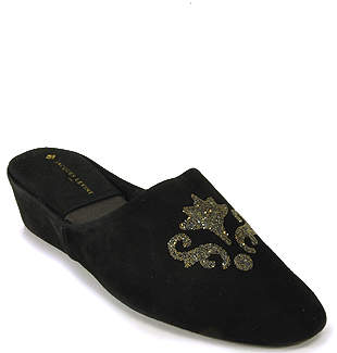 Jacques Levine Crystale - Suede Slipper
