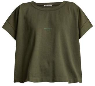 Acne Studios Tohnek Cotton T Shirt - Womens - Khaki
