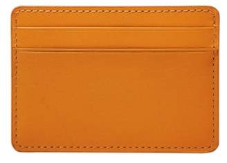 Fossil Ronnie Card Case Wallets Nectarine
