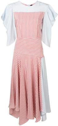DAY Birger et Mikkelsen Anna October striped multi panel dress